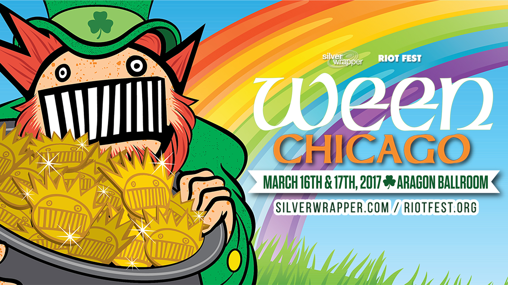 Ween Announce Concert In March At Aragon Ballroom – St. Patty's Day Bash
