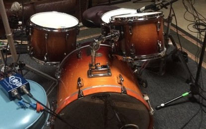 ALERT!  Drums Stolen!  Look Out Chicago!