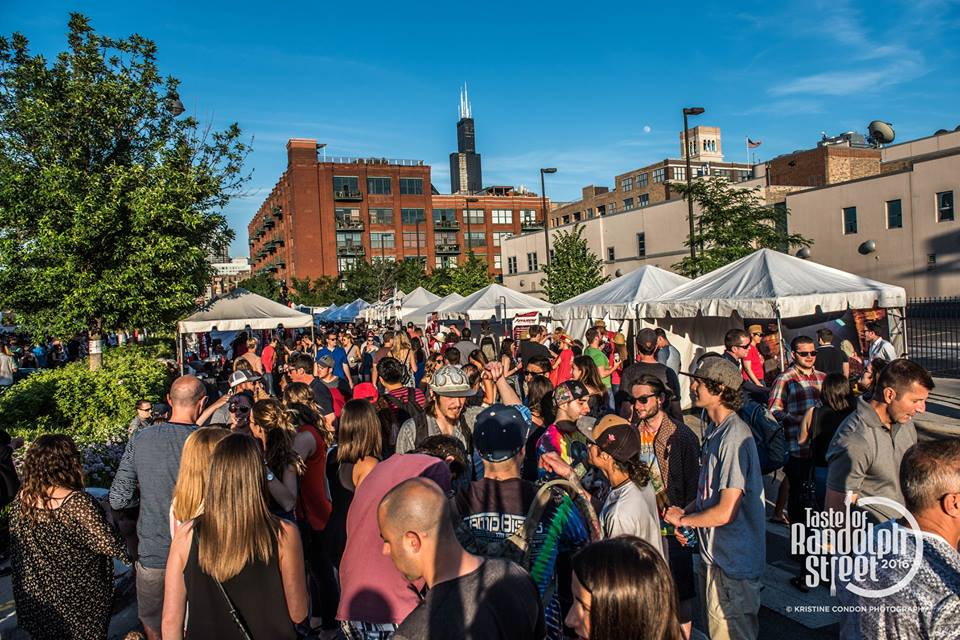 June Brings Taste of Randolph Street 2018 And Offers Brightest Names in Music and Food To West Loop This Summer