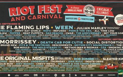 Riot Fest Chicago 2016 – Final Line Up Announced