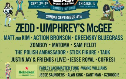 North Coast Music Festival Daily Lineup Released