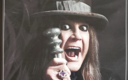Give-a-way : Ozzy Osbourne 'Ordinary Man' 12 x 18 Promo Music Poster