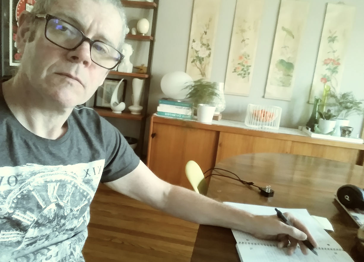 Interview: Chris Connelly: Despite Global Pandemic, Releases New Book, Music and Art For Summer of 2020