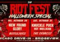 Halloween Special: Riot Fest Announces New Found Glory, Knuckle Puck, Hot Mulligan At SeatGeek Stadium Halloween Weekend