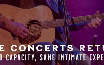 Live Music Is (Safely) Back At City Winery With An Incredible Lineup And More To Be Announced