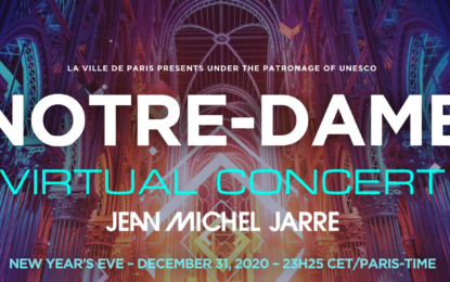 NYE With Electronic Music Pioneer Jean-Michel Jarre Live Virtual Event At Notre-Dame In Paris