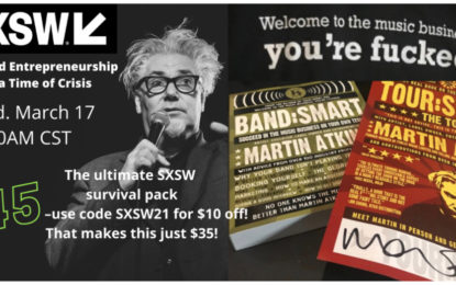 Martin Atkins Offers The Ultimate SXSW Survival Pack