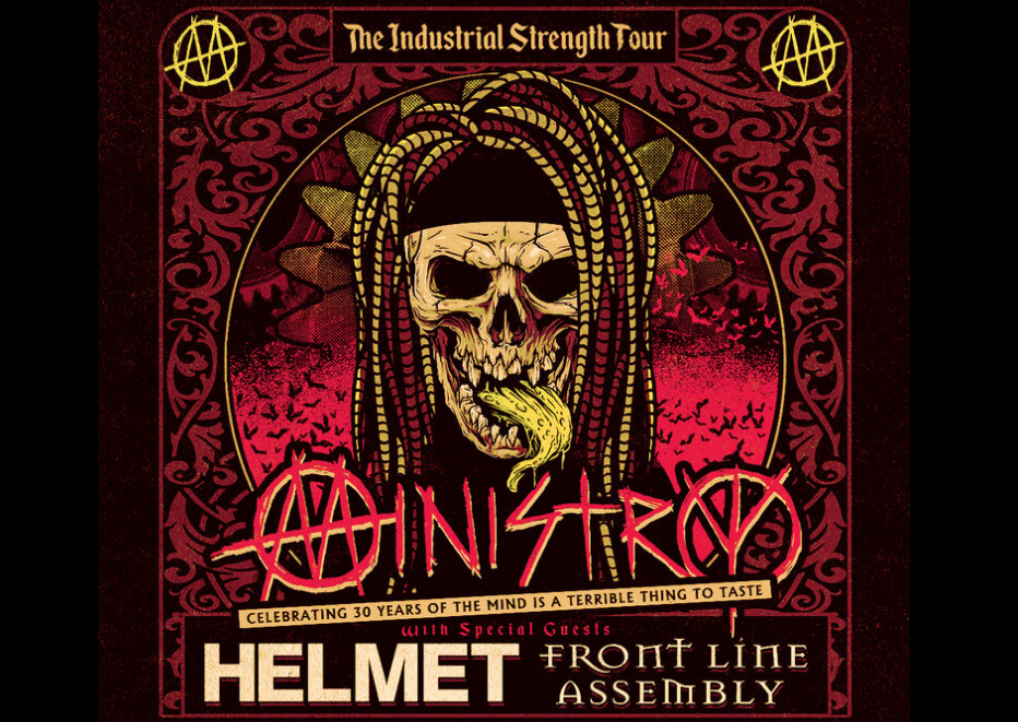 Ministry Confirms New Dates For The Industrial Strength Tour On The Heels Of The Bands 40th Anniversary