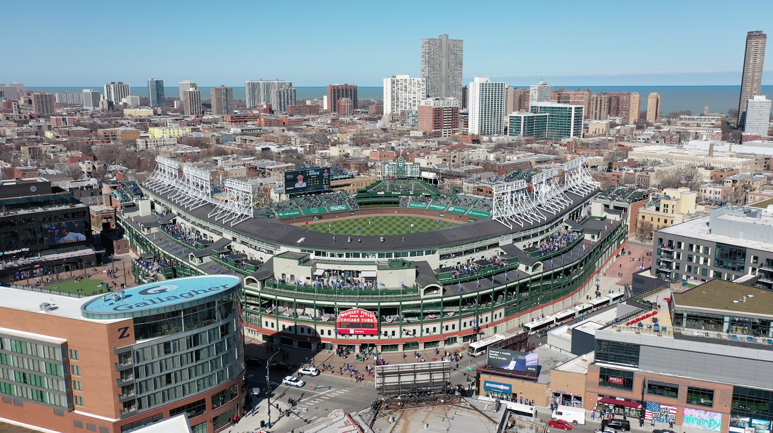 Another Returning Event To Remind Us We're Just One Step Closer To Normalcy Cubs Home Opener