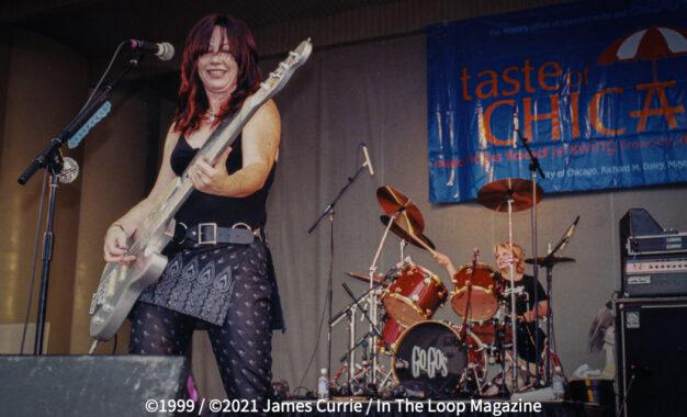 Flashback Friday: The Go Go's @ Taste of Chicago (1999)