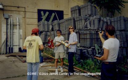 Flashback Friday: Festivals: Sonic Youth Backstage at Lollapalooza '95