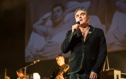 Morrissey Live In Chicago At The Riviera Theatre On Low In High School Tour