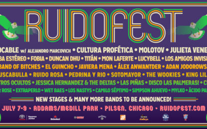 Ruido Fest 2017 Lineup Announced And Set For July 7-9 at Addams/Medill Park in Pilsen