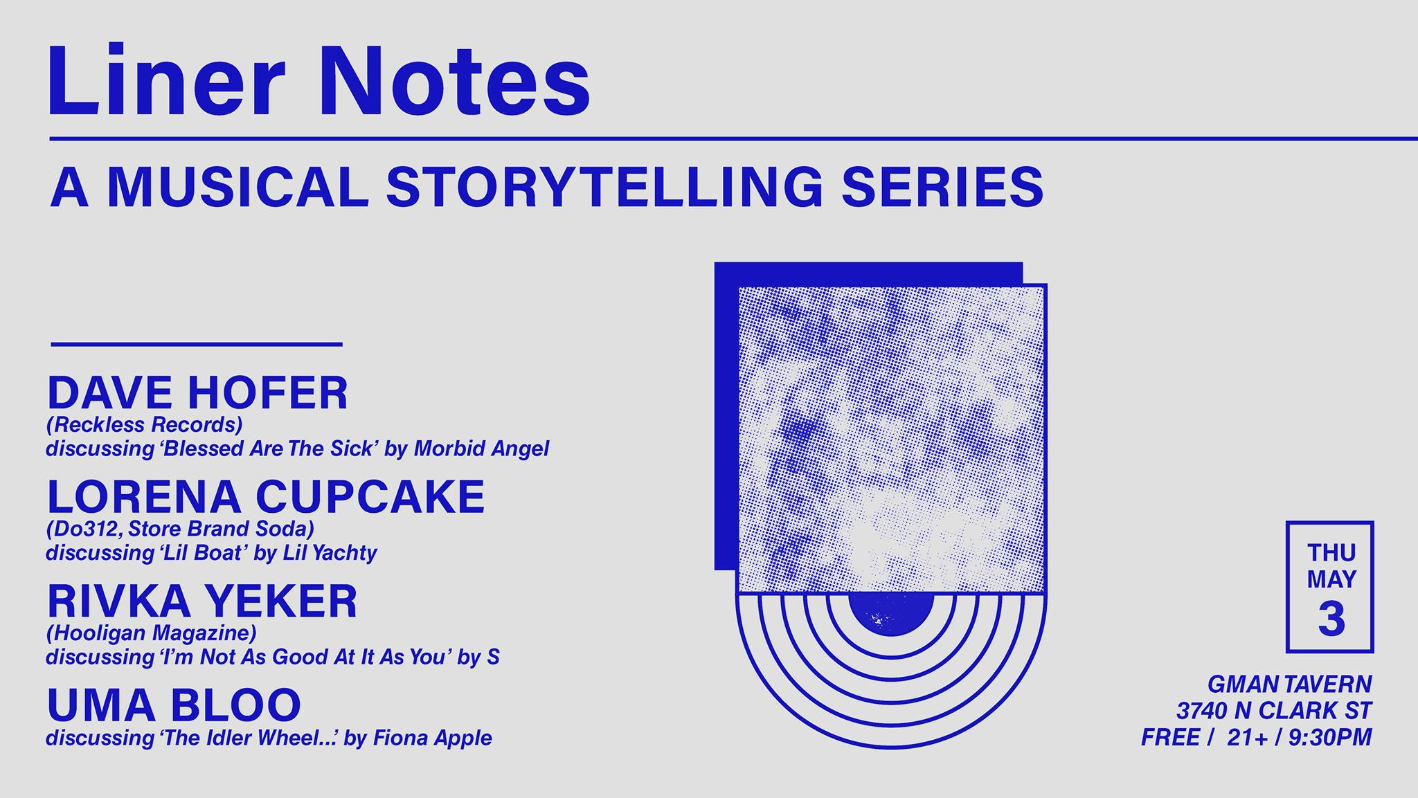 GMan Tavern Announce Monthly Event Series, Liner Notes, Storytelling About Influential Albums