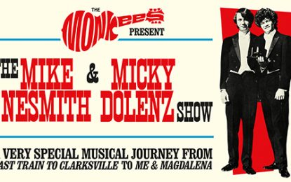 The Mike And Micky Show: Mike Nesmith And Micky Dolenz Of The Monkees To Tour As A Duo For The First Time