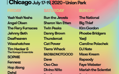 Pitchfork Announce 15th Anniversary Lineup Featuring Headliners: Yeah Yeah Yeahs, Run The Jewels & The National