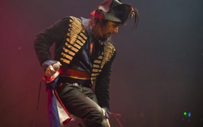 Adam Ant Sold Out Show At The Vic – Continues Honor To Fallen Bandmate