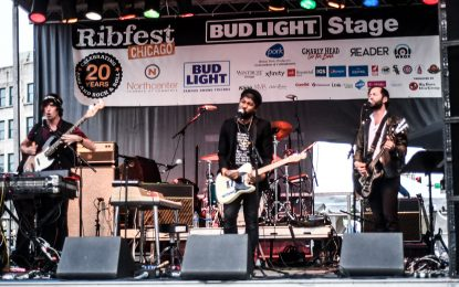 Review: A Band On Fire: Algiers From Atalanta Georgia Smoke At Ribfest