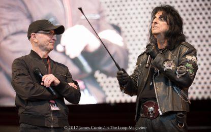 Alice Cooper Intro's 25th Anniversary Of Wayne's World Screening At Millennium Park