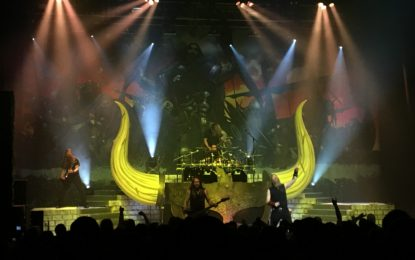 Amon Amarth Conquer Chicago Jomsviking Style