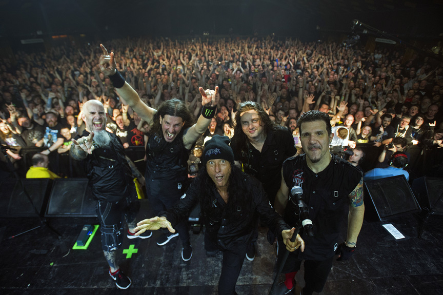Anthrax Will Perform Just 3 Times This Summer In The US, One Will Be Right Here In Chicago At Riot Fest