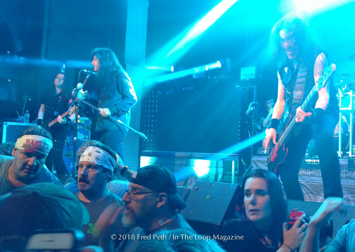 Calamity On Cass As Anthrax Takes Stage At The Forge In Joliet For Sold Out Preview Show