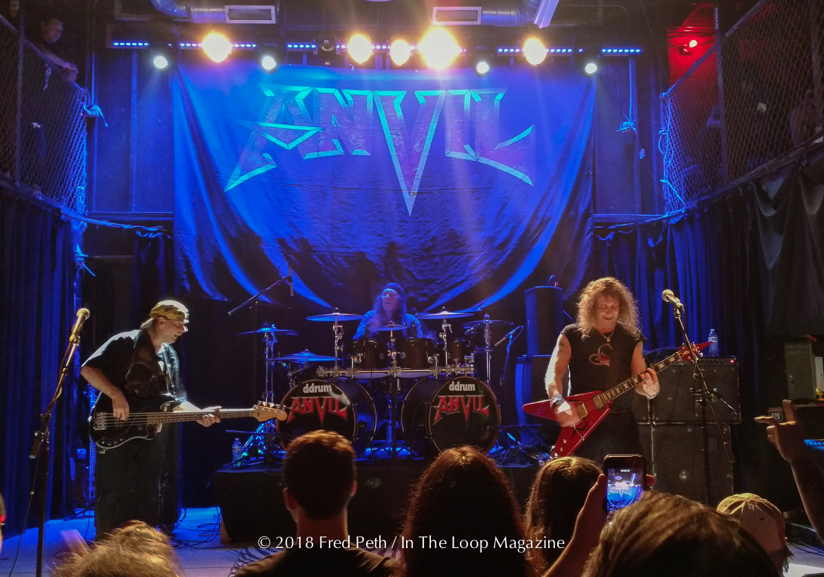 Iconic Toronto Heavy Metal Band, Anvil, Prove Why They Are Influencers Of The Genre At Chicago Stop