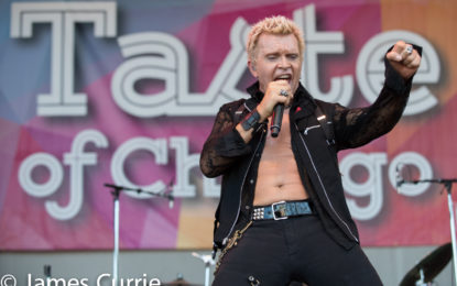 Photo Gallery : Billy Idol @ Taste of Chicago