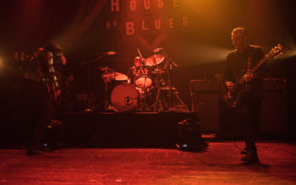 Black Rebel Motorcycle Club live in Chicago at House of Blues