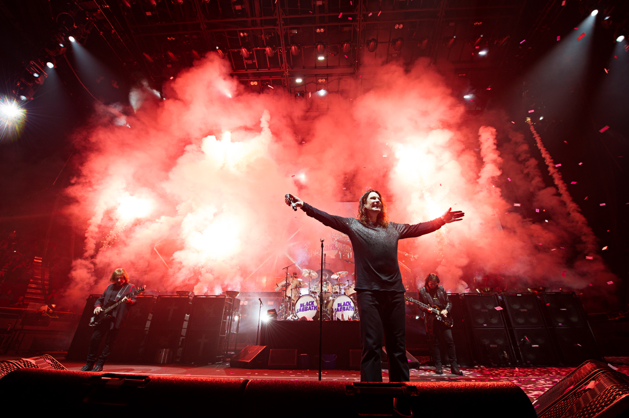 Black Sabbath Bid Farewell On 'The End' Tour