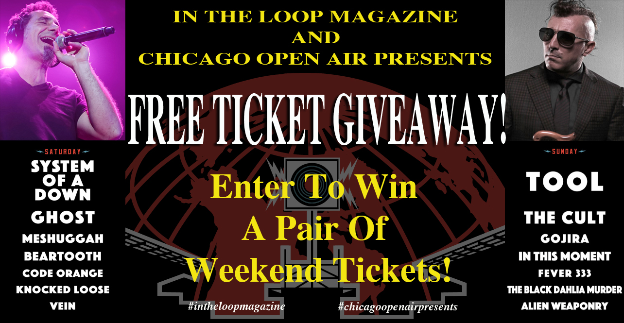 In The Loop Magazine Last Minute FREE Concert Ticket