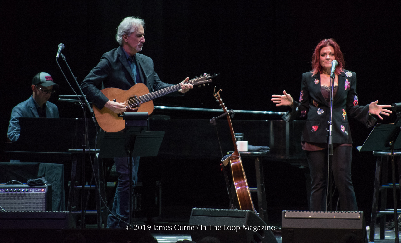 In The Loop Magazine Rosanne Cash & Ry Cooder @ Chicago Theatre - In