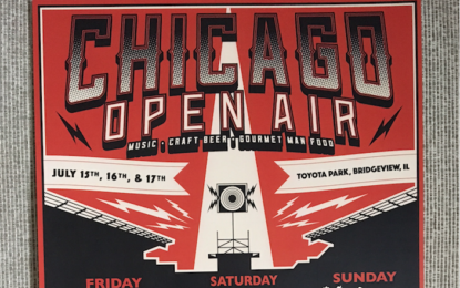 Free Stuff NOW! Chicago Open Air Festival Poster