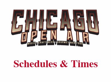 Chicago Open Air Festival Release Full Schedule and Times