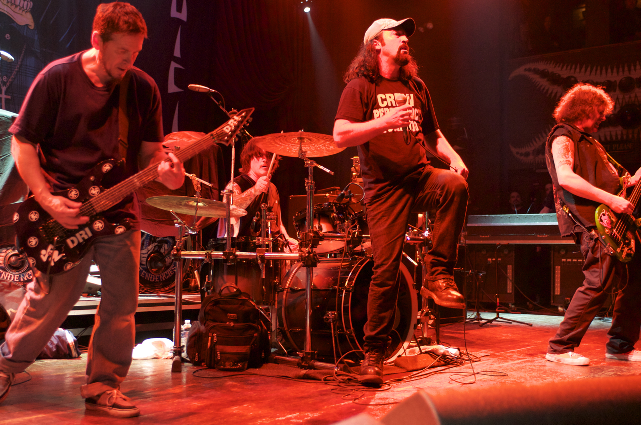 Photo Gallery : DRI at House of Blues Chicago