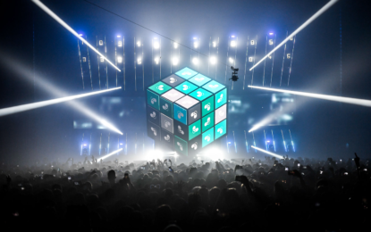 Deadmau5 Rolls Out CUBE V3 Tour At Navy Pier, Rocks The House To Its Core, Literally