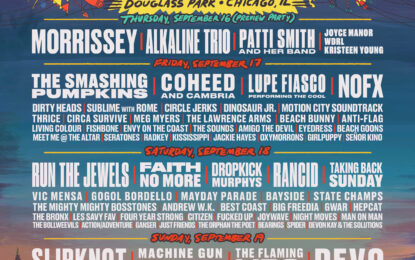 Riot Fest Solidify Final Line Up For An Otherwise Rocky 2021 Season
