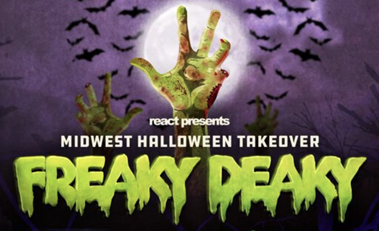 Freaky Deaky Returns as Midwest Halloween Takeover