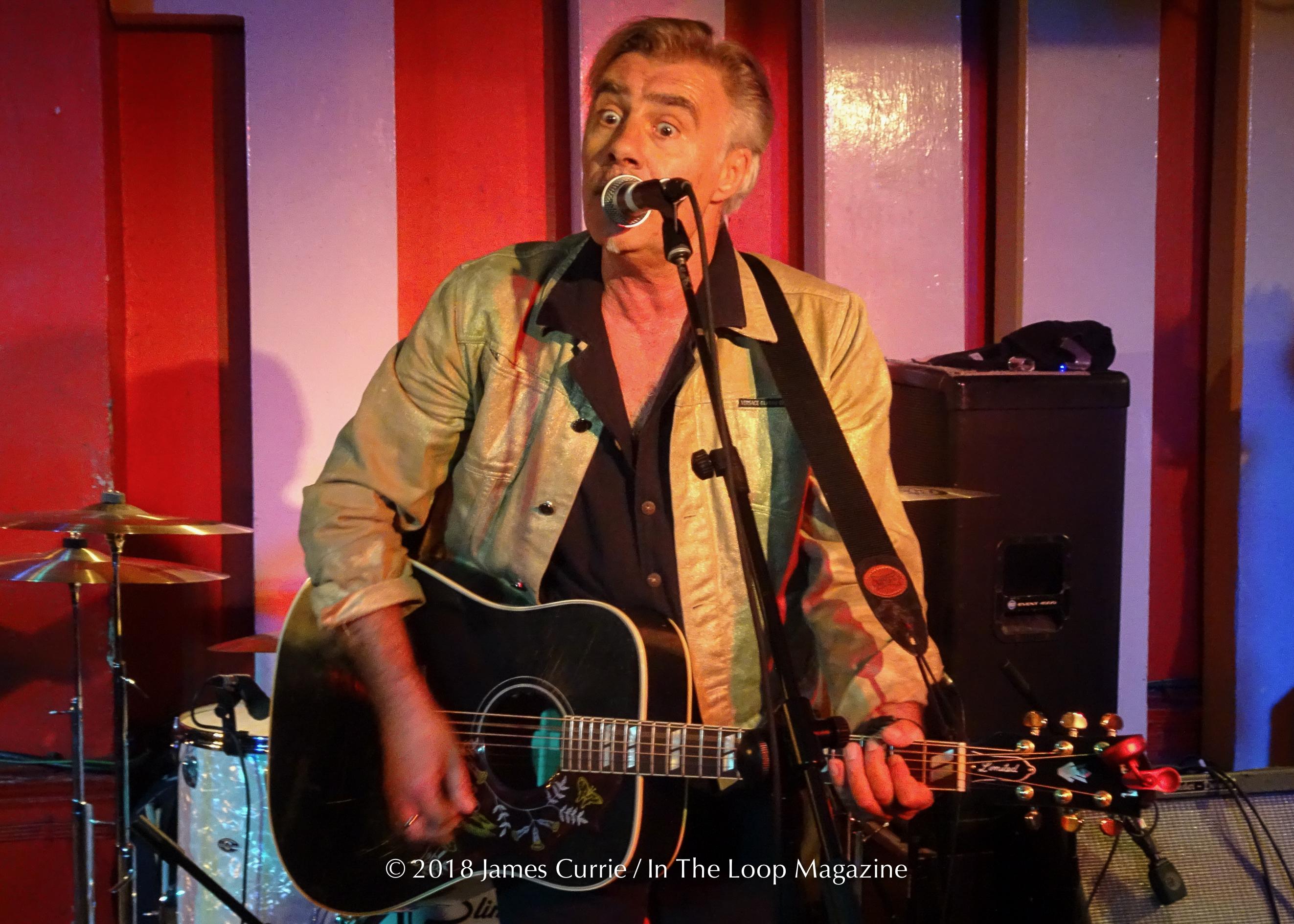 ITLM OTRS: Glen Matlock (Sex Pistols) @ Club 100 (London, UK)