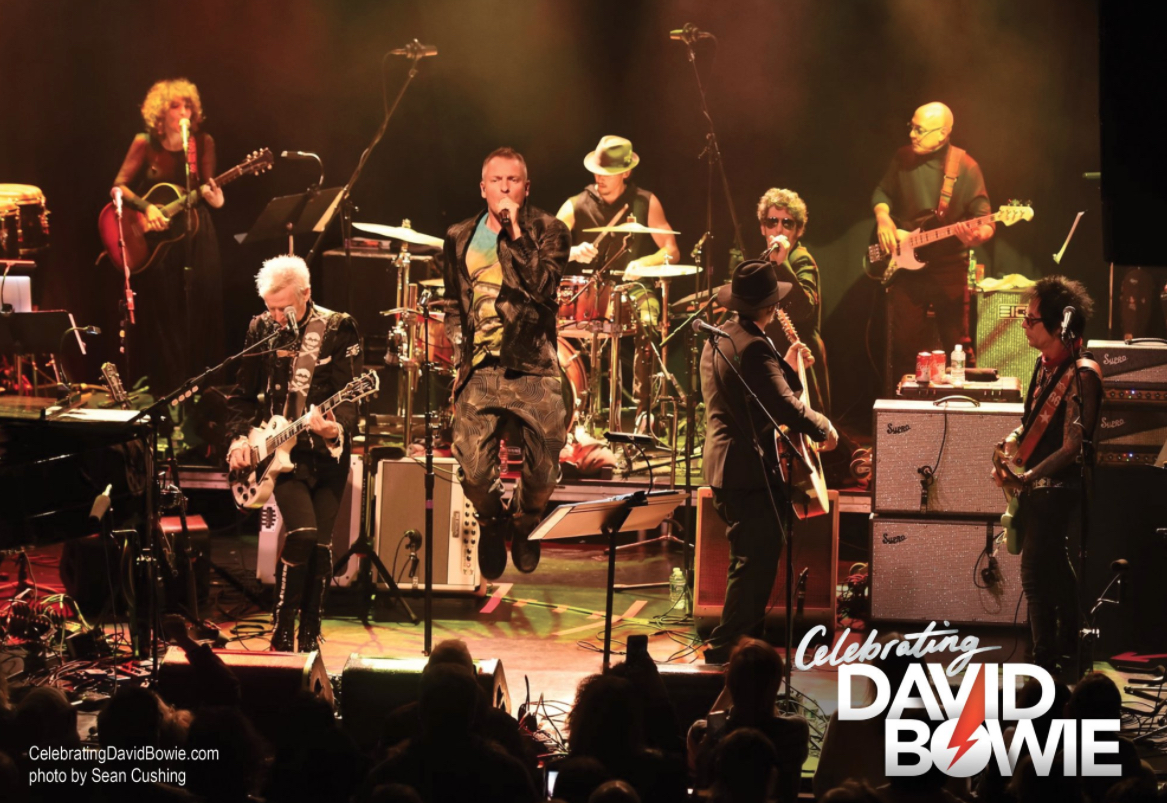 Concert Event Celebrating David Bowie Tours With Members Of David Bowie's Band