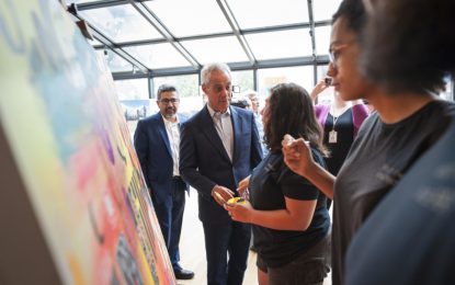 City of Chicago Launch Year of Creative Youth Festival #Borncreative To Highlight Work Of Chicago Youth