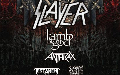 Slayer's Final World Tour, Leg 1, North America – Stop In Tinley Park at Hollywood Casino Amphitheatre