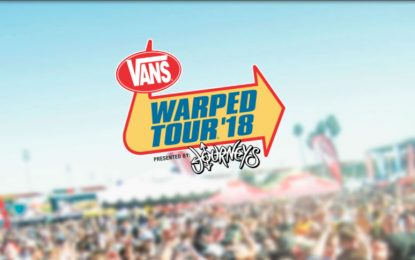 Van's Warped Tour Comes To An End. 2018 Will Be The Final Tour For The Skate Punk Inspired Event
