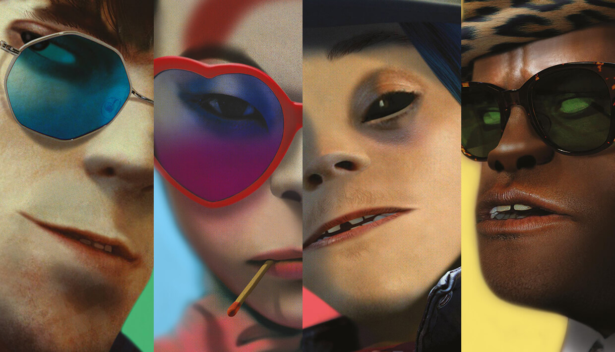HUMANZ: Gorillaz Annouce First US Tour In Seven Years With Chicago Set As First Date