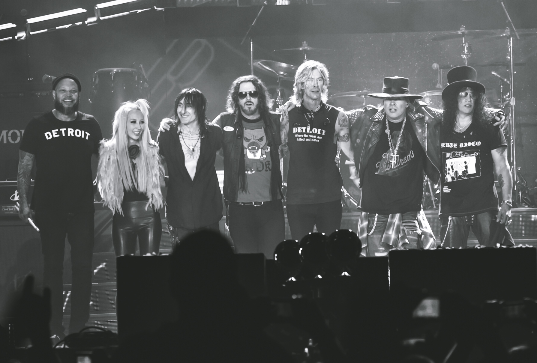 Guns N Roses Kick Off 'Not In This Lifetime Tour' In Neighboring Detroit