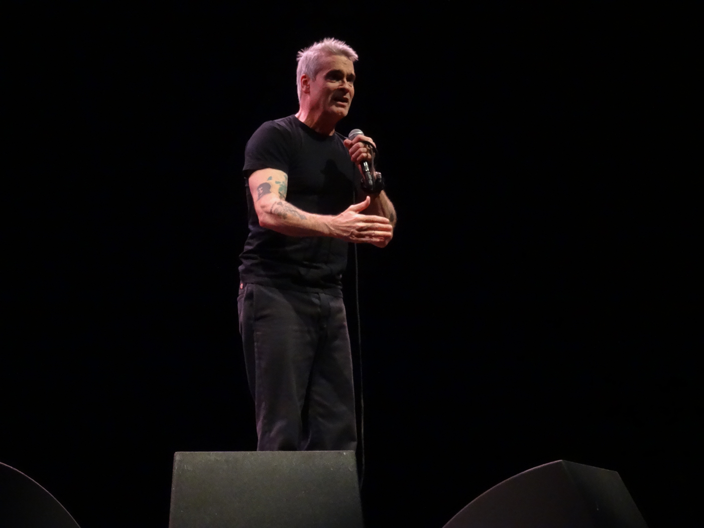 Henry Rollins Celebrates Birthday In Chicago With Two Sold Out Shows