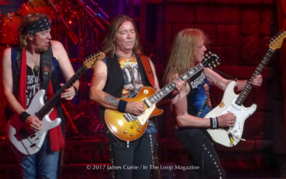 "Second Leg Of ""Book Of Souls Tour"" Proves Equally Strong As The Beginning For Iron Maiden In Chicagoland"