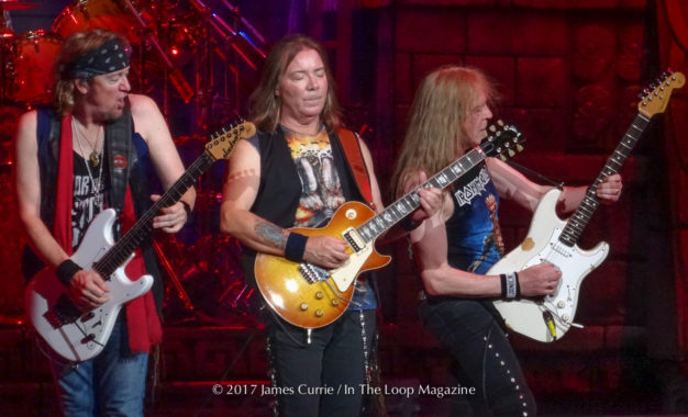 """Second Leg Of """"Book Of Souls Tour"""" Proves Equally Strong As The Beginning For Iron Maiden In Chicagoland"""