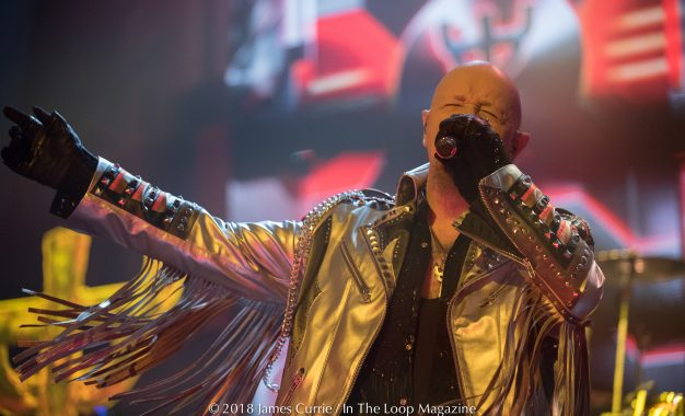 "Judas Priest Brings ""Firepower"" To Chicagoland"