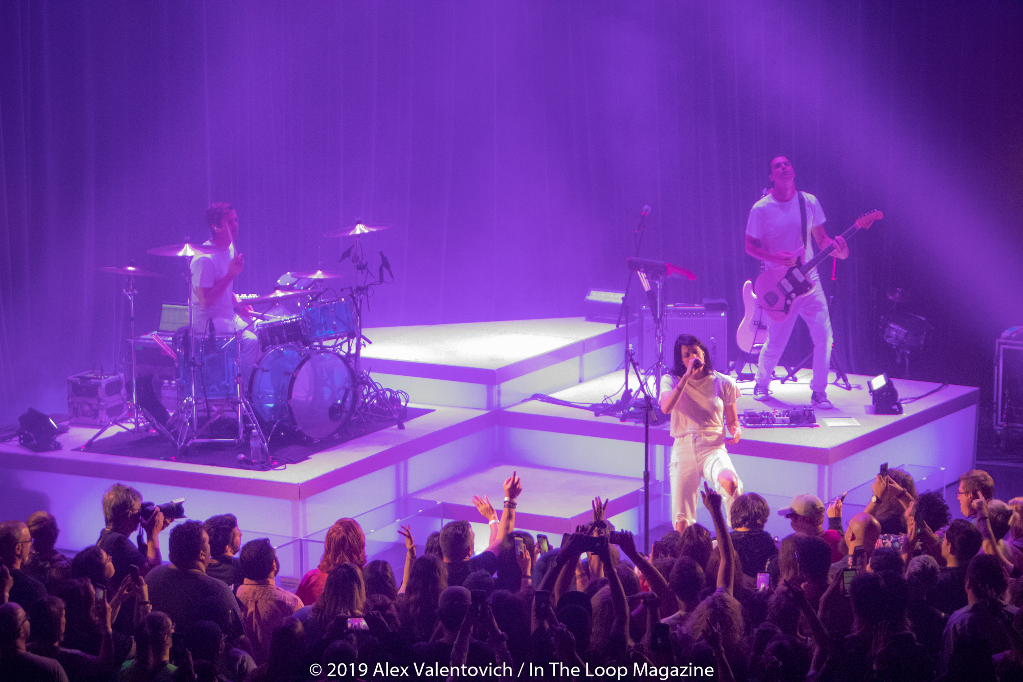 A Night Of Indie Pop At The Riviera Theatre With K Flay, Houses and Your Smith